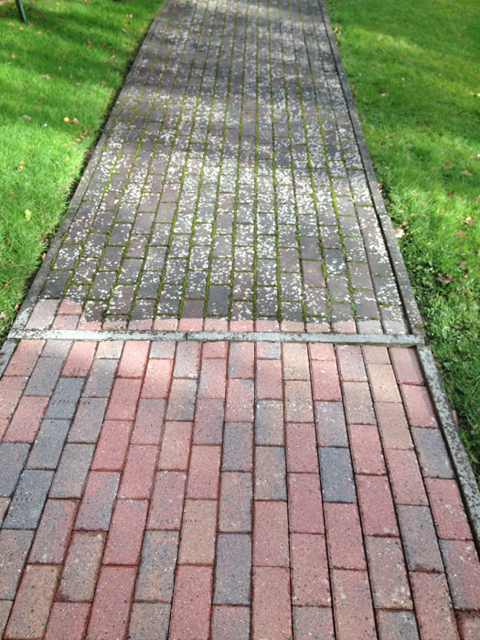 Patio decking cleanin r t cleaners for Clean driveway without pressure washer
